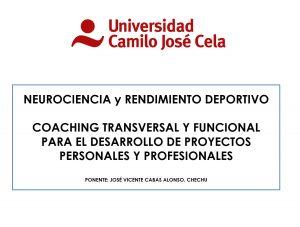 coaching deportivo madrid